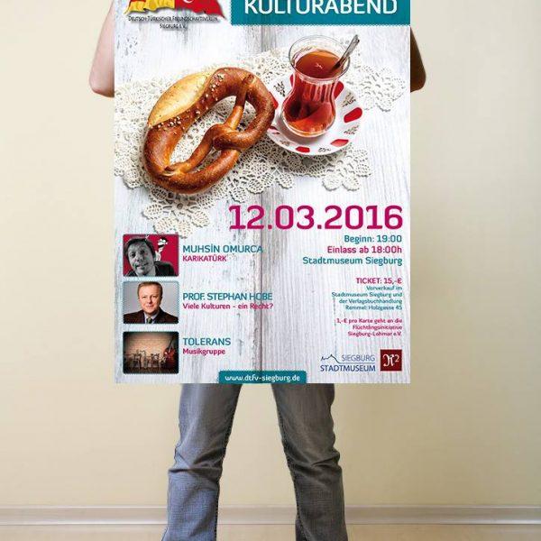 Plakat Kita Arkadas Siegburg