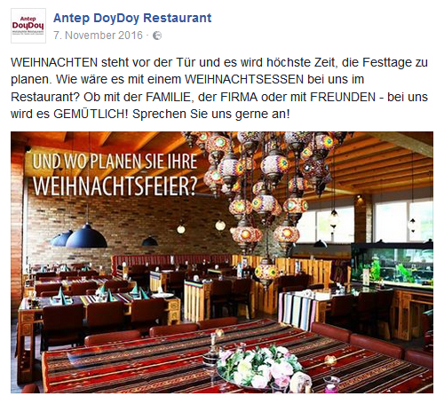 Social Media Antep DoyDoy