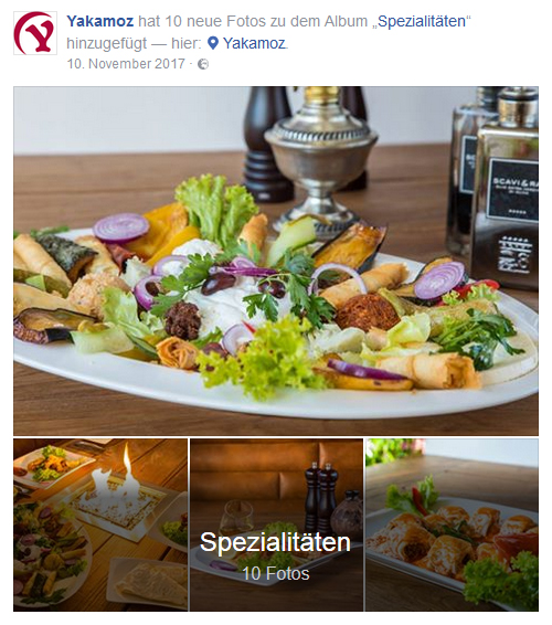 Social Media Yakamoz Restaurant