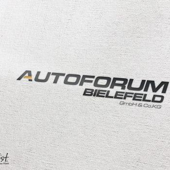 Grafist Logodesign Autoforum Bielefeld