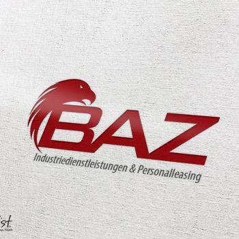 Grafist Logodesign BAZ Industriedienstleistungen & Personalleasing