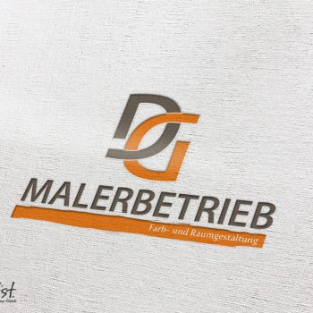 Grafist Logodesign Malerbetrieb