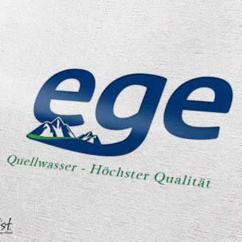 Grafist Logodesign Ege Quellwasser