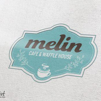 Grafist Logodesign melin Cafe & Waffle House