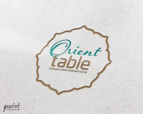 Grafist Logodesign Orient Table