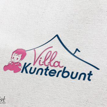 Grafist Logodesign Villa Kunterbunt