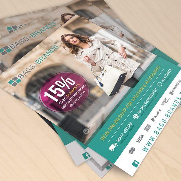 Bags & Brands Flyer Taschen und Accessoires