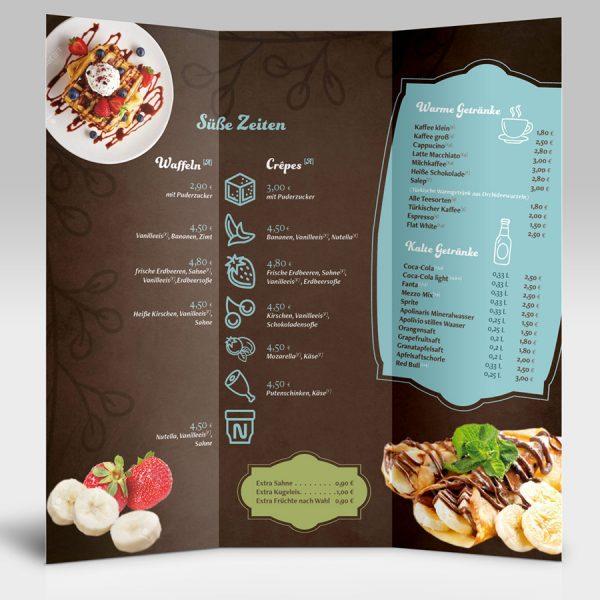 Cafe Melin Speisekarte