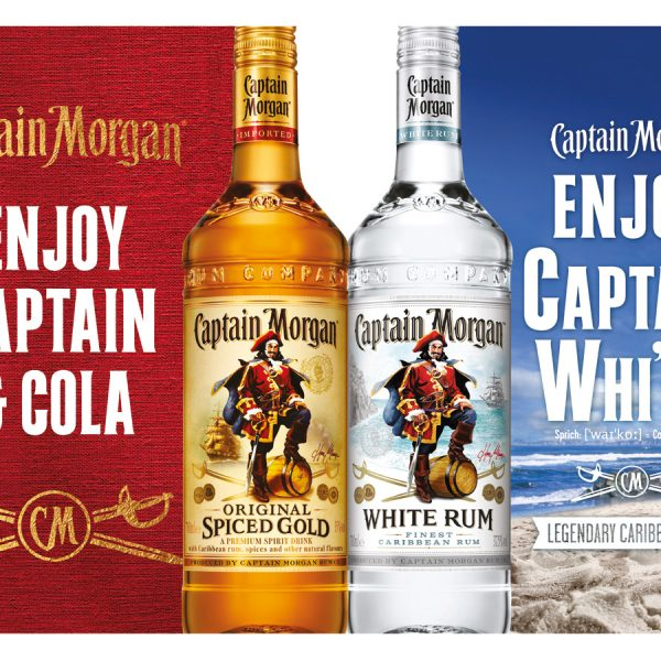 Plakat Captain Morgan