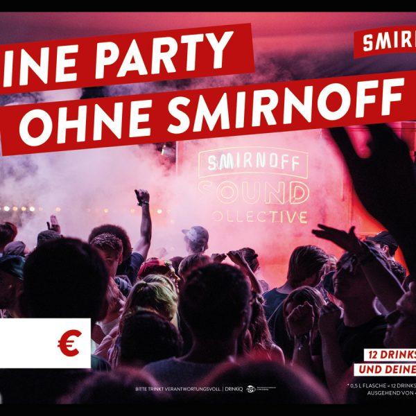 Plakat Smirnoff