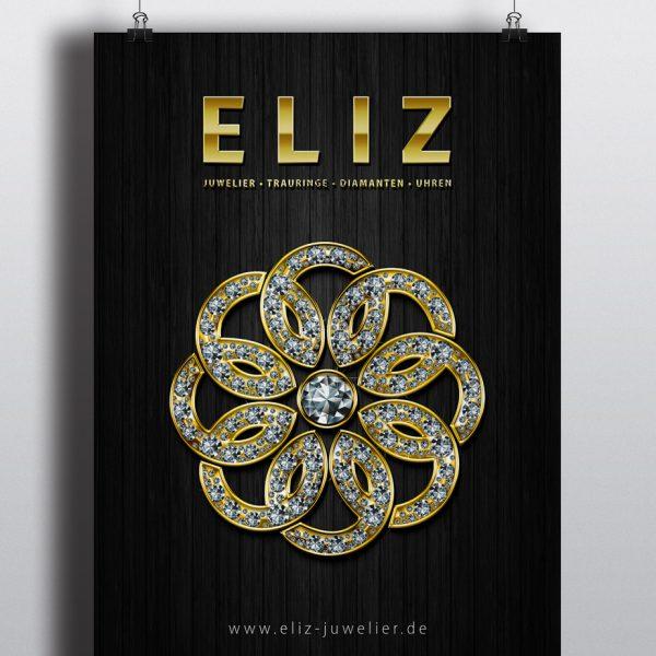 Poster Juwelier Eliz