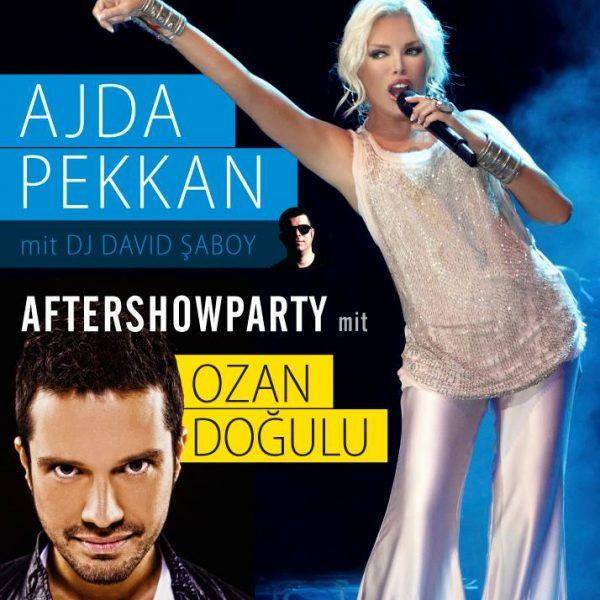 Ajda Pekkan Konzert Plakat Design