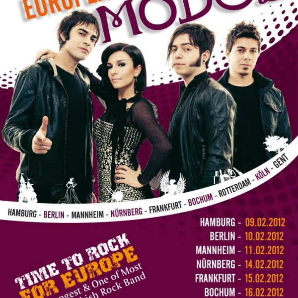 Model Konzert Plakat Design