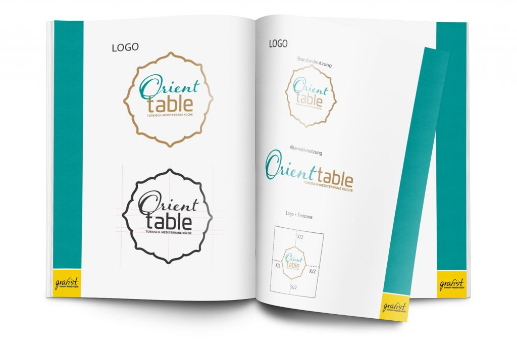 Orient Table Corporate Design