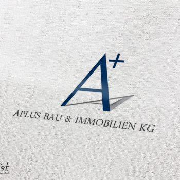Grafist Logodesign A+ Aplus Bau & Immobilien KG