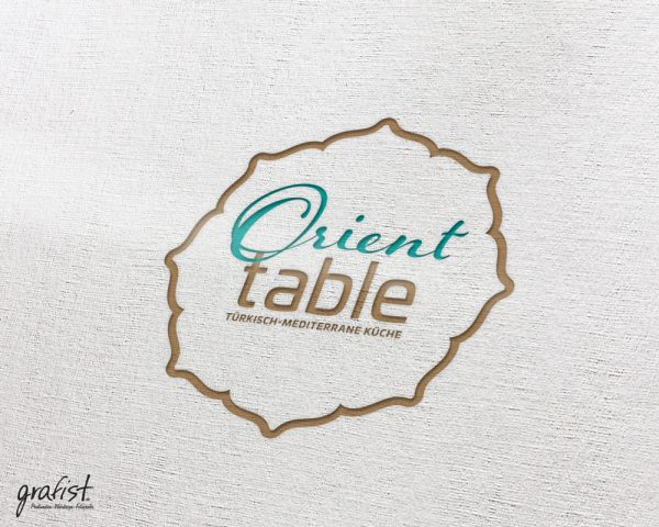 Grafist Logodesign Orient Table