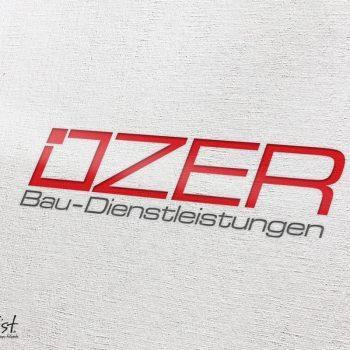 Grafist Logodesign Ozer Bau- Dienstleistungen