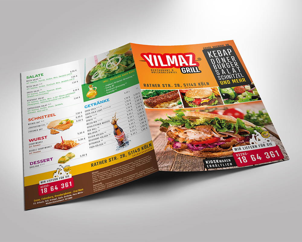 Yilmaz Grill Flyer