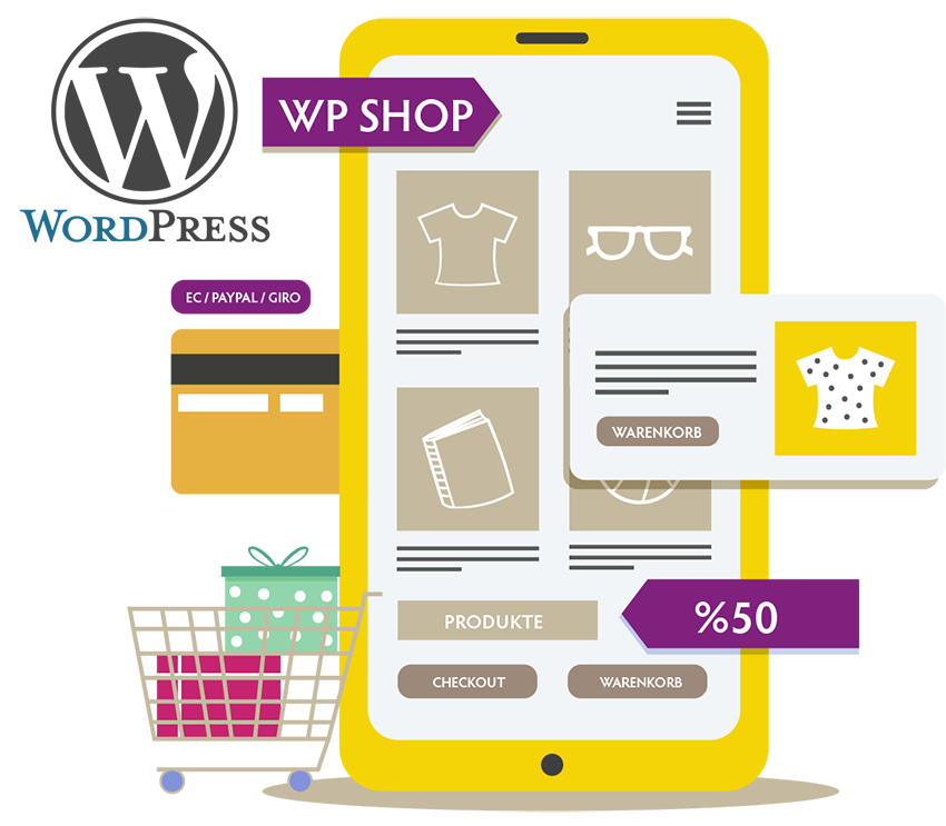 Webshop Wordpress Woocommerce von Grafist